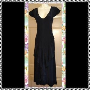 NO. 6 STORE SILK TAPERED LAYER FRONT DRESS-SIZE 2